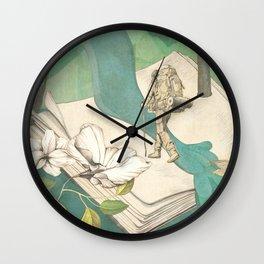 Nature Writing Wall Clock