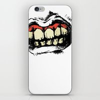teeth iPhone & iPod Skins featuring TEETH! by Helena Bowie Banshees