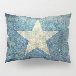 Flag of Somalia - Super Grunge version Pillow Sham