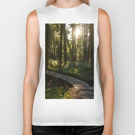 North Shore Trails in the Woods Biker Tank