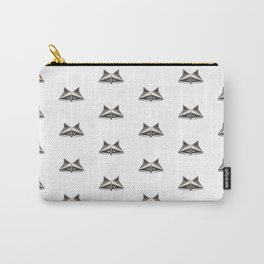 Raccoon Minimalist Pattern Carry-All Pouch