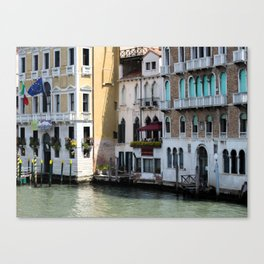 Welcome to Venice Canvas Print
