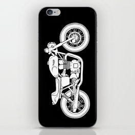 Triumph Bonneville - Cafe Racer series #3 iPhone Skin