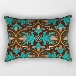Turkish tulip - Ottoman tile 16 Rectangular Pillow