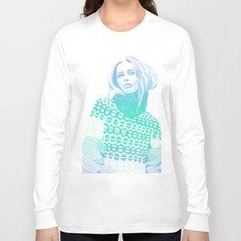Winter Blue Long Sleeve T-shirt