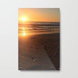 Treasure Island Sunset Metal Print