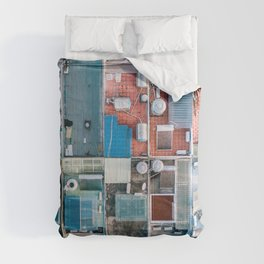 Vietnam sky view Comforters