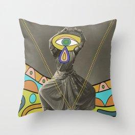 PsyCheDelik DanCer Throw Pillow
