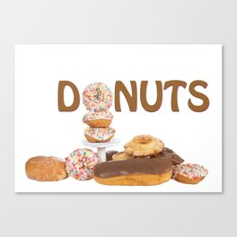 Delightful Donuts Canvas Print
