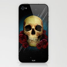 Skull and Roses iPhone & iPod Skin