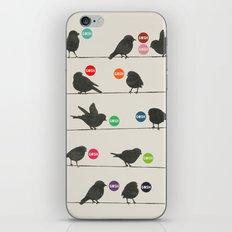 Birdsong_Gosh by Garima & Rachel  iPhone & iPod Skin