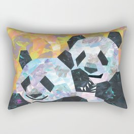 Pandas Rectangular Pillow