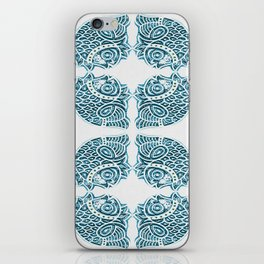Bluefish Fish India Block Print Boho iPhone Skin