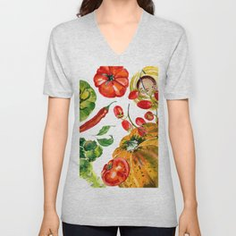 Vegetable mix Unisex V-Neck