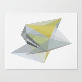 POLYTOPE OCHRE Canvas Print