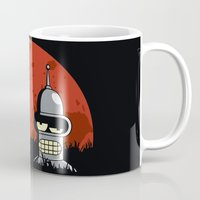 drunk Mugs featuring Drunk Robot by Moysche Designs