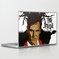 true detective Laptop & iPad Skins featuring True Detective by Vito Fabrizio Brugnola