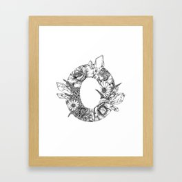 Camellia Zero Framed Art Print