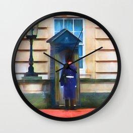 Queens Guard Wall Clock