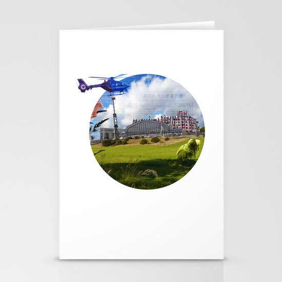 Surreal Living 25 Stationery Cards