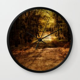Forever Free Road Wall Clock
