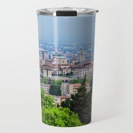 Bergamo, Citta Alta city view Travel Mug