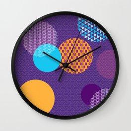Japanese Patterns 07 Wall Clock