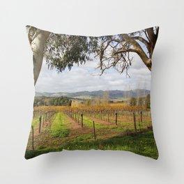 Barossa Valley Autumn Throw Pillow