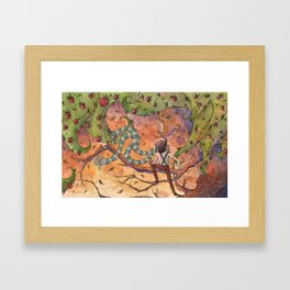 Ode to The Giving Tree Framed Art Print