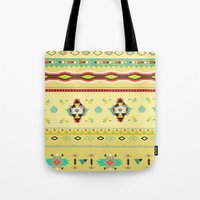 southwest Tote Bags featuring southwest by studiomarshallarts