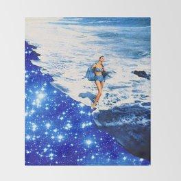 la playa  Throw Blanket