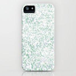 Grass Landscape Pattern 002 iPhone Case