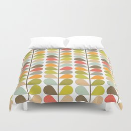 Retro Mid Century Modern Pattern 3 Duvet Cover