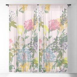 Vivacious #society6 #decor #buyart Sheer Curtain