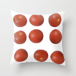 Tomato Duo Throw Pillow