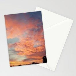 Beautiful sunset Stationery Cards
