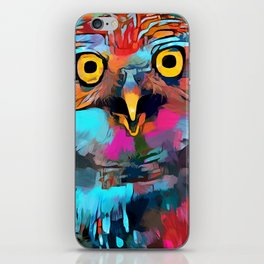 Burrowing Owl iPhone Skin