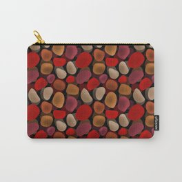 Abstract pattern . Sea stones .2 . Carry-All Pouch