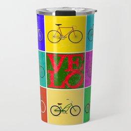 Velo Love – 8 Bikes PoP – June 12th – 200th Birthday of the Bicycle Travel Mug