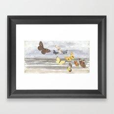 Sea light Framed Art Print