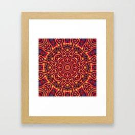 Mandala 181 Framed Art Print