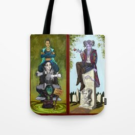 The Haunted Nein Tote Bag