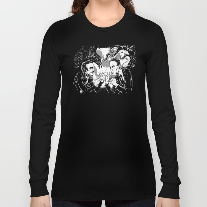 Poe vs. Lovecraft Long Sleeve T-shirt
