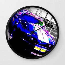 Shelby Mustang Wall Clock
