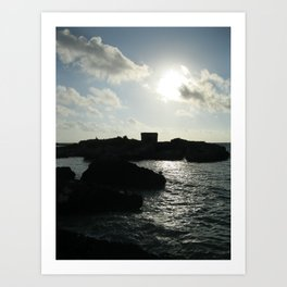 Island Ruin Art Print