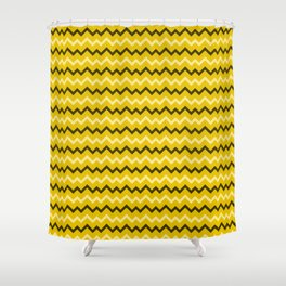 Bananas Abstract pattern Shower Curtain
