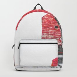 Leaning Backpack