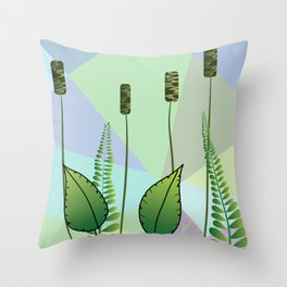 The Plants Throw Pillow