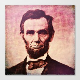 Lincoln: The Ballot is Stronger than the Bullet Canvas Print
