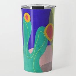 Spring Vibes #buyart #abstractArt Travel Mug